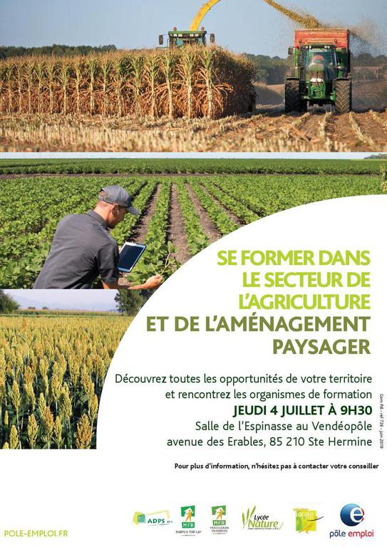 affiche Formation agricoles